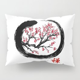 Japanese ENSO ZEN Buddhist SHIRT Pillow Sham
