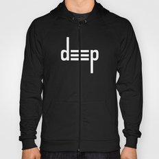 DEEP - Ambigram series (Black) Hoody
