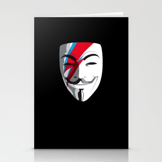 Who wants to be Anonymous? Let's be Fabulous! Viggy Starfawkes. Stationery Cards