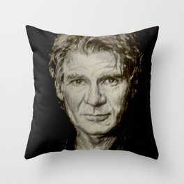 Harrison Ford Throw Pillow