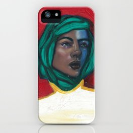 Karine iPhone Case