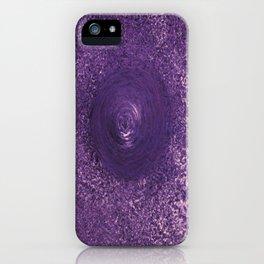 Purple Drop iPhone Case