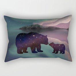 Aurora Bearealis  Rectangular Pillow