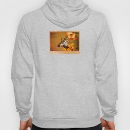 Swallowtail Butterfly and Tiger Lily Hoody