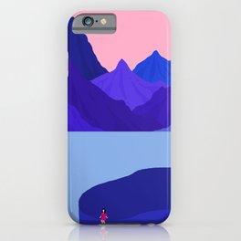 Mountain Hike//Missing Bike iPhone Case