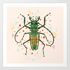 Insect V Art Print