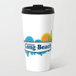 Long Beach Washington State. Travel Mug