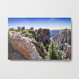 Black Canyon Colorado Metal Print
