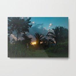 Jungle Sunrise Metal Print