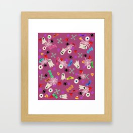 Maybe you're haunted #3 Framed Art Print