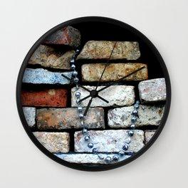 fancy kind of death Wall Clock