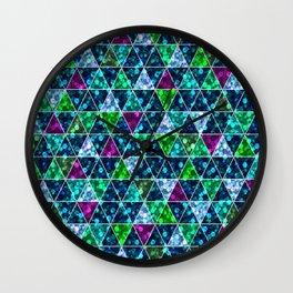 Glitter. 3 Wall Clock
