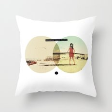 You Look Great When I'm (...) Fucked Up | Collage Throw Pillow
