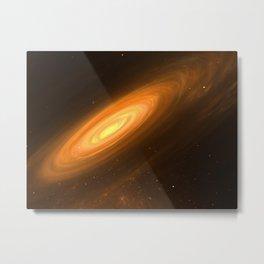 Love to travel Space Metal Print