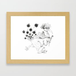 Snuffles Framed Art Print