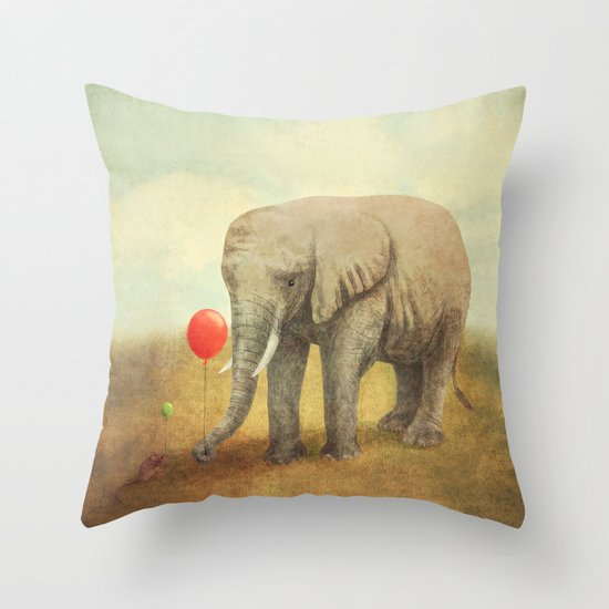 Truce Throw Pillow