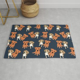 Cleo and Ginger Pattern Rug