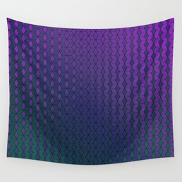 Gradient cube pattern cold Wall Tapestry