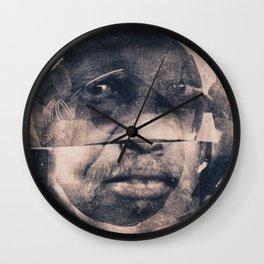 The Manner of Speaking; Sub-Saharan Diasporic Core Sample Wall Clock