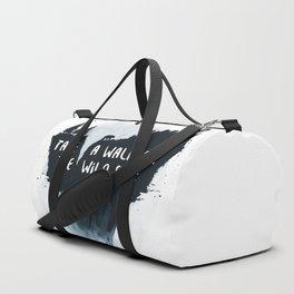 Walk on the wild side Duffle Bag