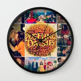 Pushing Daisies Wall Clock