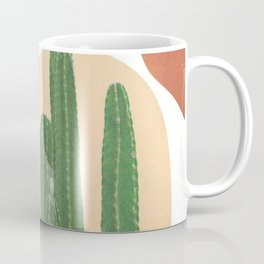 Abstract Cactus I Coffee Mug
