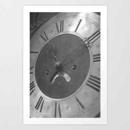 ten past eleven Art Print