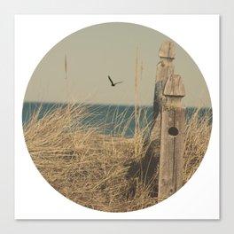 Paradise New England Beach Ocean Seaside Neutral Photography Fine Art Prints New  Canvas Print