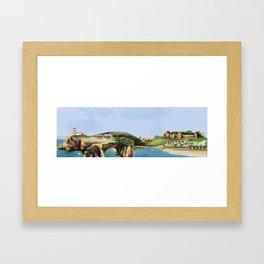 Algarve landscape Framed Art Print