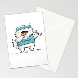 Carbivore Stationery Cards