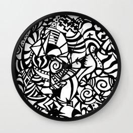 Wisdom Bits Wall Clock