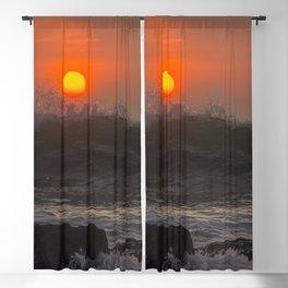 Summer Waves Blackout Curtain