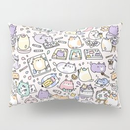 Artsy Cats Pillow Sham