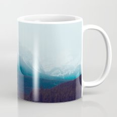 Canadian Rocky Mountains, Banff, Lake Louise, Winter Landscape Mug