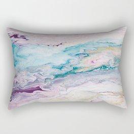 Purple Ocean Rectangular Pillow