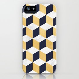 Marble Covered Gold iPhone Case