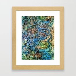 Autumn in Hell Framed Art Print
