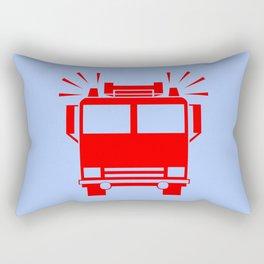 fire truck illustration Rectangular Pillow