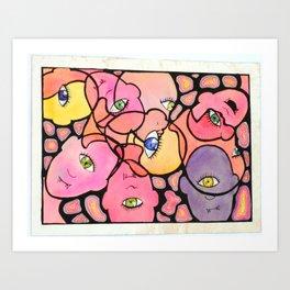 Cyclopes Blend Art Print