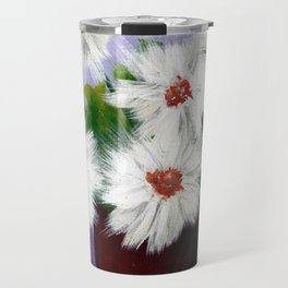 Daisies in a Cup Travel Mug