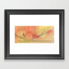 Skyliner Framed Art Print