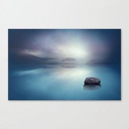 Silent Blue Canvas Print
