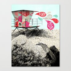 SURF.SUN.FUN. Canvas Print