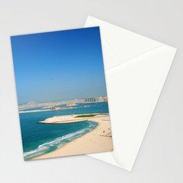 Dubai - Jumeirah Beach Coastline Stationery Cards