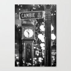 Cambie St Canvas Print