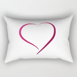 Heart in Style by LH Rectangular Pillow