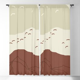 Mountain Cave Blackout Curtain