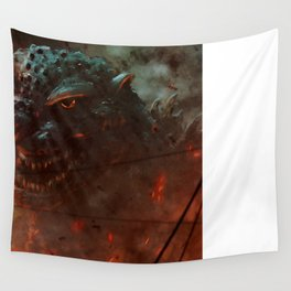 Baptized in the Fires of the H-bomb Wall Tapestry