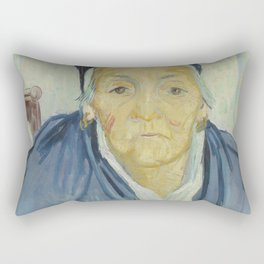 An Old Woman of Arles Rectangular Pillow
