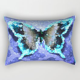 Butterfly Glow #2 Rectangular Pillow